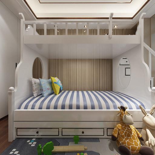 儿童房VR全景效果图设计